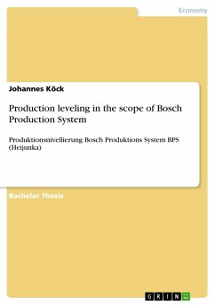 Production leveling in the scope of Bosch Production System (eBook, PDF)