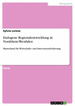 Endogene Regionalentwicklung in Nordrhein-Westfalen (eBook, ePUB)