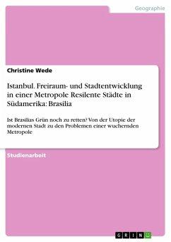 Istanbul. Freiraum- und Stadtentwicklung in einer Metropole Resilente Städte in Südamerika: Brasilia (eBook, ePUB)