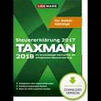 TAXMAN 2018 für Selbstständige (für Steuerjahr 2017) (Download für Windows)