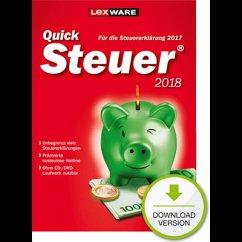 Lexware QuickSteuer 2018 (Download für Windows)