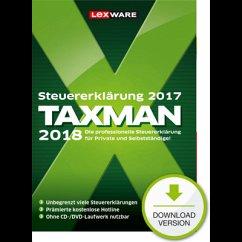 TAXMAN 2018 (Download für Windows)