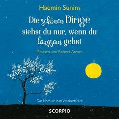 Die schönen Dinge siehst du nur, wenn du langsam gehst, 1 Audio-CD - Sunim, Haemin