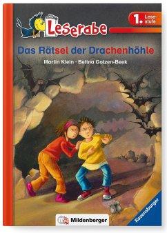 Leserabe 33, Lesestufe 1 - Das Rätsel der Drachenhöhle - Klein, Martin