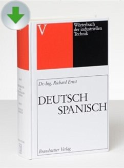 Deutsch-Spanisch/Spanisch-Deutsch / Wörterbuch der industriellen Technik, CD-ROM