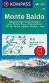 KOMPASS Wanderkarte Monte Baldo