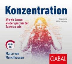 Konzentration, 1 MP3-CD - Münchhausen, Marco von