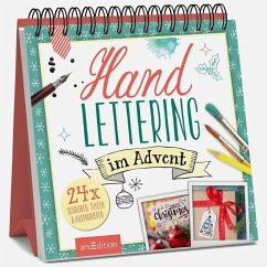 Handlettering im Advent