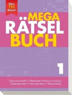 Mega Rätselbuch 1