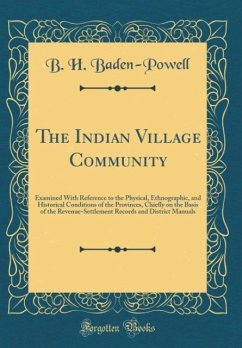 The Indian Village Community