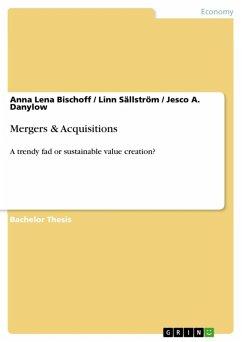 Mergers & Acquisitions (eBook, ePUB)