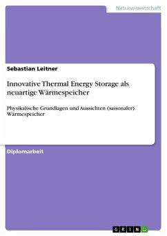 Innovative Thermal Energy Storage als neuartige Wärmespeicher (eBook, ePUB)