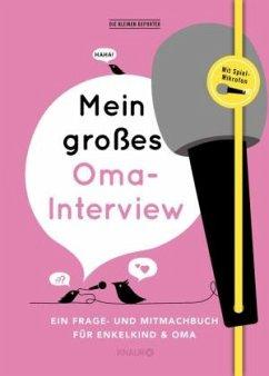 Mein großes Oma-Interview - Vliet, Elma van