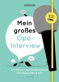 Mein großes Opa-Interview - Vliet, Elma van