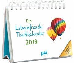 Der Lebensfreude-Tischkalender 2019 - Wolf, Doris; Merkle, Rolf