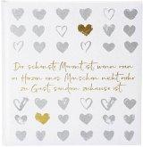 Goldbuch love memories 30x31 60 weiße Seiten Hochzeit 27052