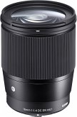 Sigma 1,4/16 DC DN Contemporar Objektiv für Sony E-Mount (67 mm Filtergewinde, APS-C Sensor)