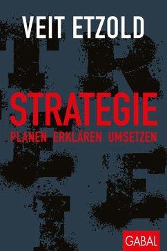 Strategie (eBook, PDF) - Etzold, Veit