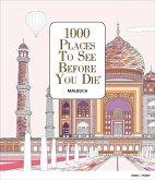 1000 Places To See Before You Die - Ausmalbuch (Mängelexemplar)