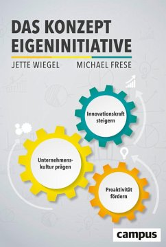 Das Konzept Eigeninitiative (eBook, PDF) - Frese, Michael; Wiegel, Jette
