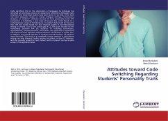 Attitudes toward Code Switching Regarding Students' Personality Traits