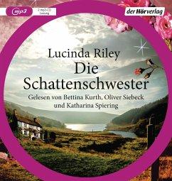 Die Schattenschwester / Die sieben Schwestern Bd.3 (2 MP3-CDs) - Riley, Lucinda