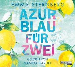 Azurblau für zwei, 6 Audio-CDs - Sternberg, Emma