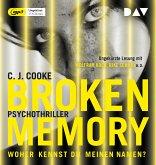 Broken Memory, 1 MP3-CD