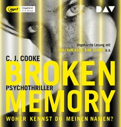 Broken Memory, 1 MP3-CD - Cooke, C. J.