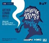 Sherlock Holmes 3 - Die Memoiren, 5 Audio-CDs