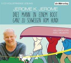 Drei Mann in einem Boot. Ganz zu schweigen vom Hund!, 5 Audio-CDs - Jerome, Jerome K.