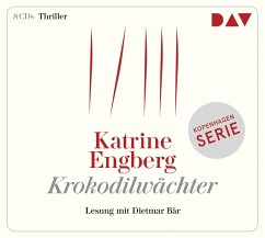Krokodilwächter, 8 Audio-CDs - Engberg, Katrine