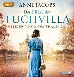 Das Erbe der Tuchvilla / Tuchvilla Bd.3 (1 MP3-CDs) - Jacobs, Anne