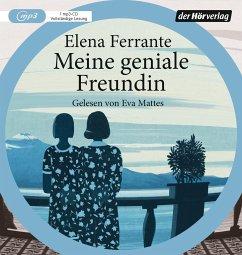 Meine geniale Freundin / Neapolitanische Saga Bd.1 (1 MP3-CD) - Ferrante, Elena