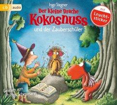 Der kleine Drache Kokosnuss und der Zauberschüler / Die Abenteuer des kleinen Drachen Kokosnuss Bd.26 (1 Audio-CD) - Siegner, Ingo