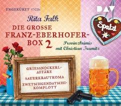 Die große Franz-Eberhofer-Box 2, 17 Audio-CDs - Falk, Rita