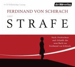 Strafe, 4 Audio-CDs - Schirach, Ferdinand von