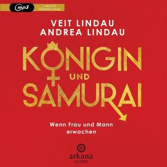 Königin und Samurai, 1 MP3-CD - Lindau, Veit; Lindau, Andrea