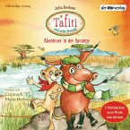 Tafiti und seine Freunde. Abenteuer in der Savanne, 3 Audio-CDs