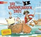 Die besten Piraten der Welt auf großer Fahrt / Die Unsinkbaren Drei Bd.2 (1 Audio-CD)