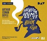 Sherlock Holmes 4 - Die Rückkehr, 3 Audio-CDs