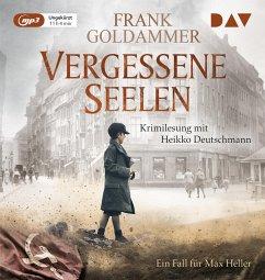 Vergessene Seelen / Max Heller Bd.3 (1 MP3-CD) - Goldammer, Frank