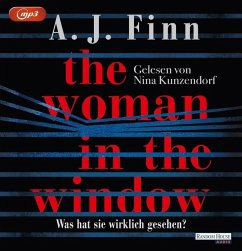 The Woman in the Window - Was hat sie wirklich gesehen?, 2 MP3-CDs - Finn, A. J.