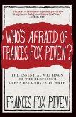 Who's Afraid of Frances Fox Piven? (eBook, ePUB)