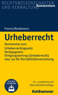 Urheberrecht - Fromm, Friedrich K.; Nordemann, Wilhelm