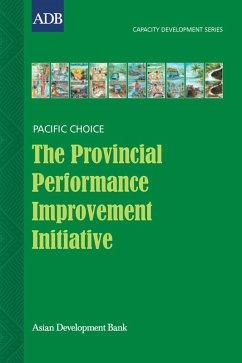 The Provincial Performance Improvement Initiative (eBook, ePUB) - Saldanha, Cedric