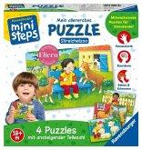 Ravensburger 04535 - Ministeps® Mein allerserstes Puzzle, Streichelzoo