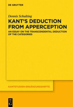 Kant´s Deduction From Apperception