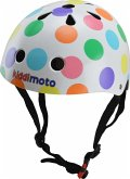 kiddimoto® Fahrradhelm Pastel Dotty