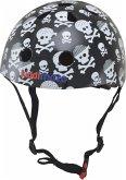 kiddimoto® Fahrrad Helm Skullz Pirat